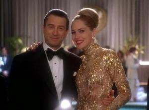 Stone and DeNiro were a match made in heaven in this scene. Stone's sexy yet classy dress was everything Las Vegas.