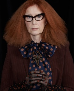 Francis Conroy, a series regular serves up high fashion witchiness at its best!