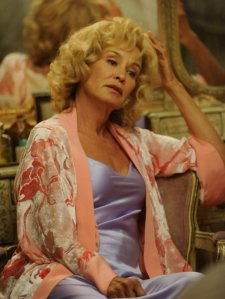 Lange during an episode of season one reminding us of her portayal of Patsy Cline