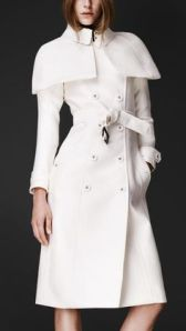 The infamous white trench coat by Burberry worn by Olivia Pope in the season 3 Scandal premiere