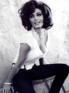 """A woman's dress should be like a barbed-wire fence: serving its purpose without obstructing the view."" ~Sophia Loren"